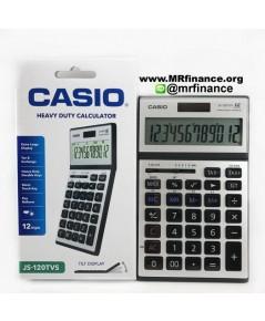 เครื่องคิดเลขตั้งโต๊ะคาสิโอ Casio JS-120TVS-SR ของใหม่ ของแท้