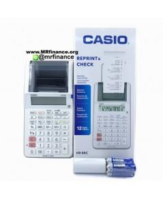 เครื่องคิดเลขพิมพ์กระดาษคาสิโอ Casio HR-8RC WE (สีขาว) ของใหม่ ของแท้