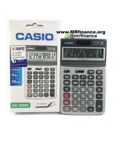 เครื่องคิดเลขตั้งโต๊ะคาสิโอ Casio AX-120ST ของใหม่ ของแท้