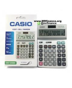 เครื่องคิดเลขคาสิโอ Casio DW-120MS ของใหม่ ของแท้