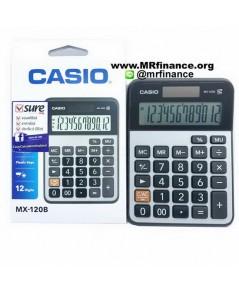 เครื่องคิดเลขตั้งโต๊ะคาสิโอ Casio MX-120B ของใหม่ ของแท้