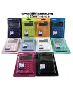 เครื่องคิดเลขตั้งโต๊ะคาสิโอ Casio MS20UC รุ่นใหม่ 10 สี ให้เลือก