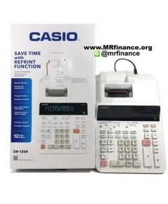 เครื่องคิดเลขพิมพ์กระดาษคาสิโอ Casio DR-120R  รุ่นใหม่ล่าสุด ของใหม่ ของแท้