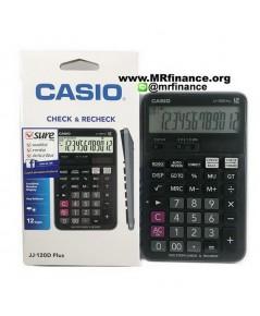 เครื่องคิดเลขตั้งโต๊ะคาสิโอ Casio JJ-120D Plus ของใหม่ ของแท้