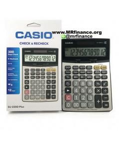 เครื่องคิดเลขตั้งโต๊ะ Casio DJ-220D Plus ของใหม่ ของแท้