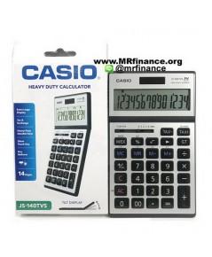 Casio JS-140TVS เครื่องคิดเลขตั้งโต๊ะคาสิโอ 14 หลัก ของใหม่ ของแท้