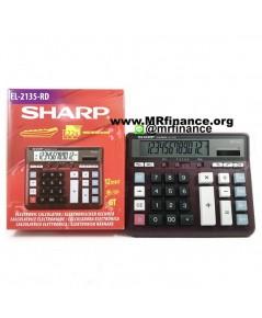 เครื่องคิดเลขตั้งโต๊ะชาร์ป Sharp EL-2135 RD (สีแดง) ของใหม่ ของแท้