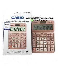 เครื่องคิดเลขตั้งโต๊ะคาสิโอ Casio DF-120FM PK ของใหม่ ของแท้