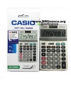 เครื่องคิดเลขตั้งโต๊ะคาสิโอ Casio JW-120MS ของใหม่ ของแท้