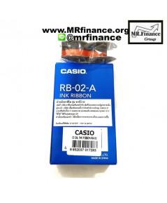 Casio RB-02-A ผ้าหมึกเครื่องคิดเลขพิมพ์กระดาษ ของใหม่ ของแท้