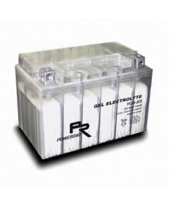 YG9-BS : Transparent , Gel Electrolyte Motorcycle Battery