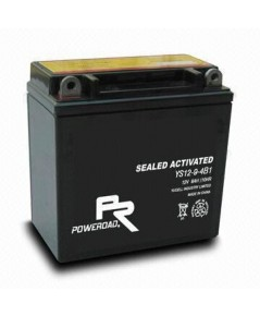 YB9A-BS : Maintenance Free Motorcycle Battery