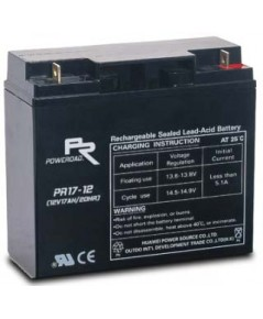 แบตเตอรี่ Poweroad : PR18-12 (12V 18Ah)