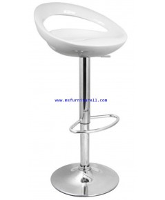 เก้าอี้สตูลบาร์สีขาว รุ่น Moon