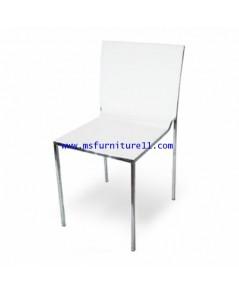 เก้าอี้สีขาว รุ่น Adam