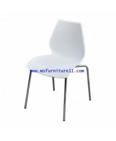 เก้าอี้ PP สีขาว รุ่น Lotus
