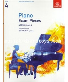 ABRSM Selected Piano Exam Pieces: 2013-2014 (Grade 4) - Book Only