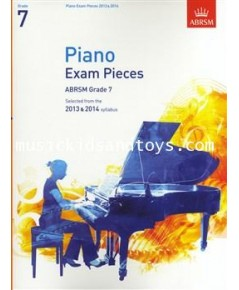 ABRSM Selected Piano Exam Pieces: 2013-2014 (Grade 7) - Book Only