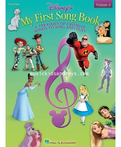 Disney\'s My First Songbook Vol. 4 - Easy Piano