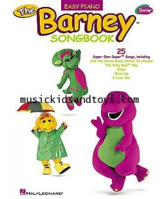 The Barney Songbook (Easy Piano)