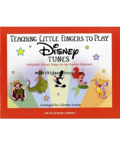 Teaching Little Fingers To Play Disney Tunes (Easy Piano)