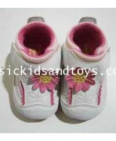 รองเท้า OSH KOSH สีขาวชมพู size 3 ความยาว 11.5CM