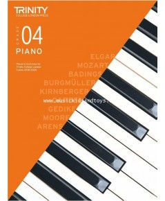 Trinity College London: Piano Exam Pieces  Exercises 2018-2020 - Grade 4 (Book Only)