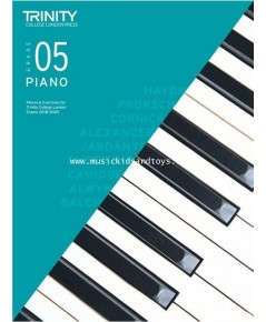 Trinity College London: Piano Exam Pieces  Exercises 2018-2020 - Grade 5 (Book Only)