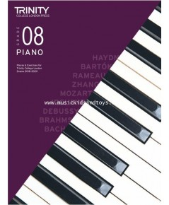 Trinity College London: Piano Exam Pieces  Exercises 2018-2020 - Grade 8 (Book Only)