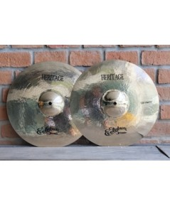 Evolution Cymbals Heritage  B20 HI-HAT 14นิ้ว