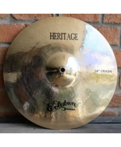 Evolution Cymbals Heritage  B20 Crash 14นิ้ว