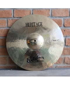 Evolution Cymbals Heritage B20 Crash 17 นิ้ว