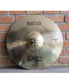 Evolution Cymbals Heritage B20 Crash 19 นิ้ว