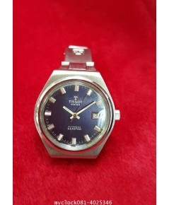 TISSOT automatic date blue dial
