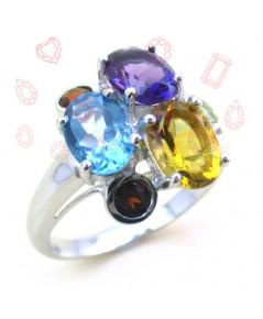 แหวนพลอยเนี้ออ่อน เบญจมณี