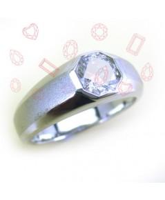 แหวนเพชร Cubic Zirconia (แหวนชาย)
