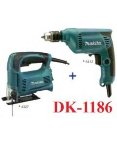 ชุดสว่านไฟฟ้า DK1186 MAKITA