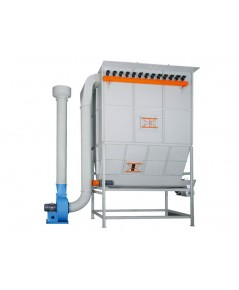 INDUSTRIAL DUST CYCLONE CENTRAL SYSTEM-UB-150A