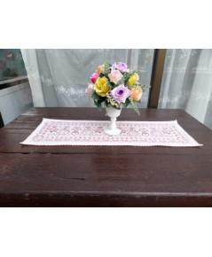ผ้ารองแจกันดอกไม้สไตล์คอทเทจ
