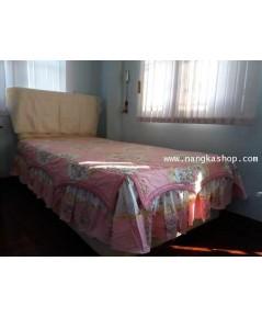 ผ้าปูที่นอนสไตล์วินเทจ ขนาด 3.5ฟุต