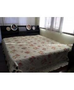 ผ้าปูที่นอนผ้า cotton สไตล์วินเทจ