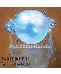 แหวนมุกประดับเพชร..แหวนหมั้น..แหวนแต่งงาน..ของขวัญ..ของฝาก..เพชรคัดน้ำงามเล่นไฟดีสุดสุดค่ะ**