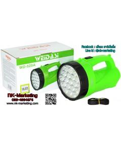 ไฟฉาย WD-520A (19 LED)