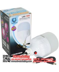 หลอดไฟพกพา LED 18w IWACHI แสงสีขาว (IWC-USB-18W)