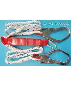 ชุดกันตก 2 ตะขอใหญ่ Safety Belt ยี่ห้อ OKURA รุ่น OK-200EA (์IIV)(เครื่องมือช่าง)