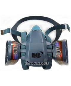 หน้ากากกรอง แบบ 2 กรอง(MMV)(หน้ากากพ่นสี)(เครื่องมือช่าง)