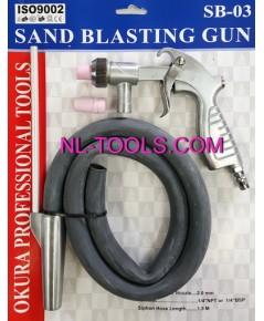 ปืนพ่นทราย okura SB-03(ปืนพ่นทราย)(เครื่องมือช่าง)(TW)