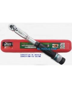 ประแจปอนด์,ประแจปอนด์ koche,โคเช่, 3/8 นิ้ว หรือ 3 หุน 40-250in-LB (เครื่องมือช่าง)(J,TJV)