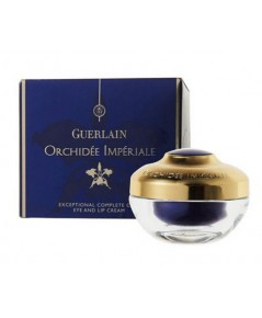 Pre-order : -30 Guerlain Orchidee Imperiale Exceptional Complete Care Eye and Lip Cream 15ml.