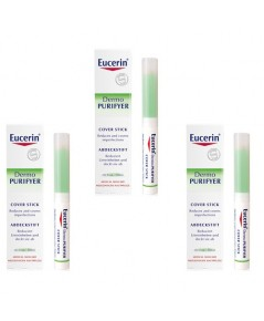 *พร้อมส่ง..แพ็ค 3* Eucerin Dermo PURIFYER Cover Stick 2.5ml ใช้ดีจริงค่ะ (exp.10/18)
